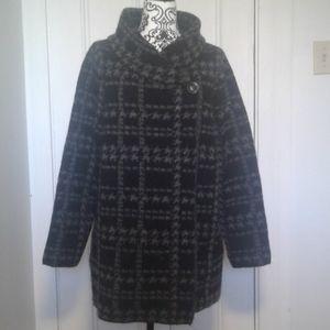 Tahari jacket knitted wool blend Plus size 1X